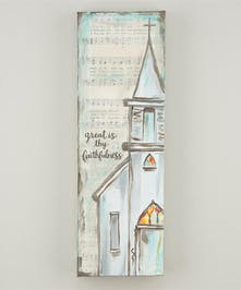 Canvas with Scripture and Chapel