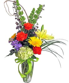 Vibrant Bouquet of Assorted Spring Flowers