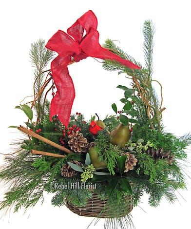 Big Basket of Christmas Cheer