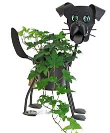 Small Puppy Planter