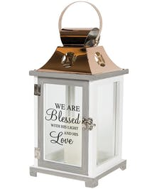 Blessed with Love Memorial Lantern