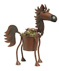 Mini Fireball the Horse Planter