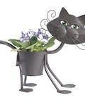 Mini Little Glamour Kitty Planter