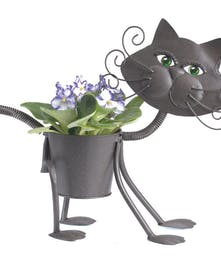 Adorable Glamour Kitty Planter