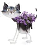 Mini Painted Kitty planter