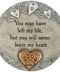 Pet Heart Garden Stone