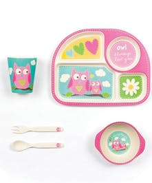 Owl Dinner Set