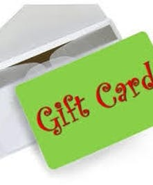 Gift Cards with Varying Amounts
