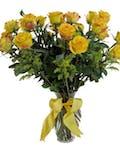 Two Dozen Yellow Roses