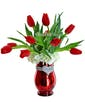 Tulip Sparkle w/Red Tulips