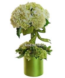 Spring flower delivery nashville tn rebel hill florist spring flowers verdi hydrangea topiary mightylinksfo
