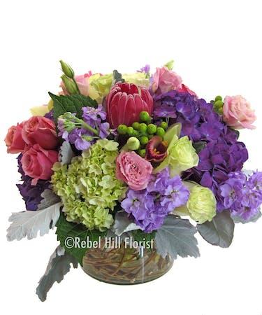 Bountiful Spring Rebel Hill Florist Nashville Flower Delivery